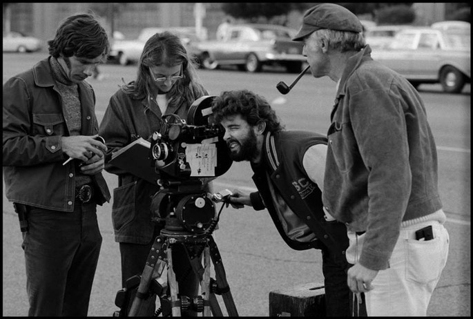 the life of george lucas and his first 1973 film american graffiti Before george lucas created the star wars and indiana jones films, he brought to the screen, an amusing and intimate look at teenage life in northern california with his hit universal pictures film american graffiti the movie introduced wolfman jack to a whole new audience.